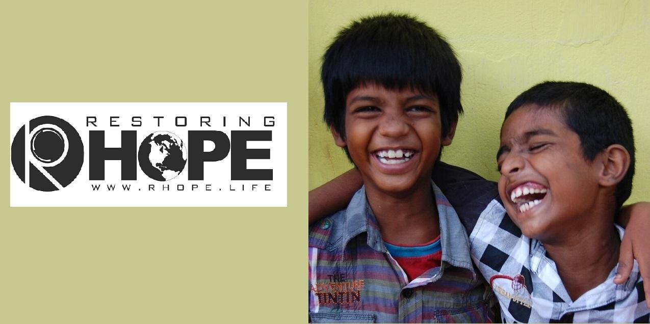 Rhope boys at Madurai orphanage